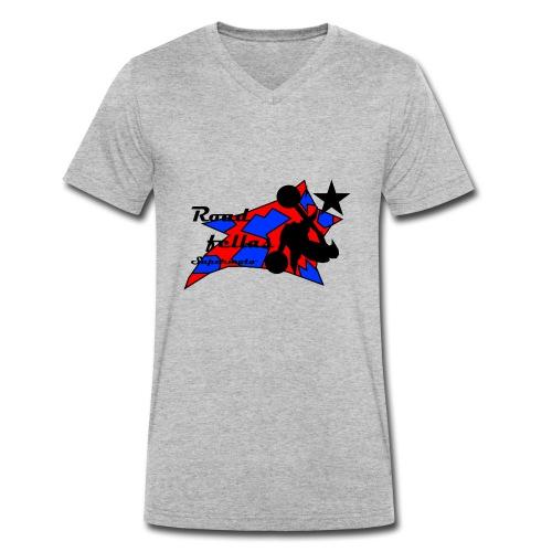Roadfellas Crew - Männer Bio-T-Shirt mit V-Ausschnitt von Stanley & Stella