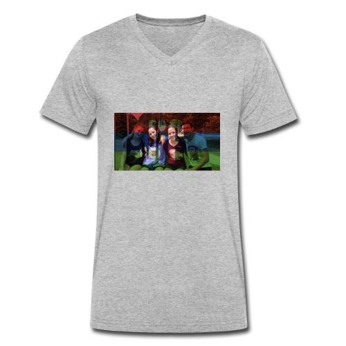 PV-Bike Trip Propaganda - Männer Bio-T-Shirt mit V-Ausschnitt von Stanley & Stella
