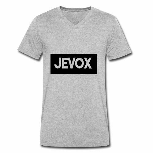 Jevox Black - Mannen bio T-shirt met V-hals van Stanley & Stella