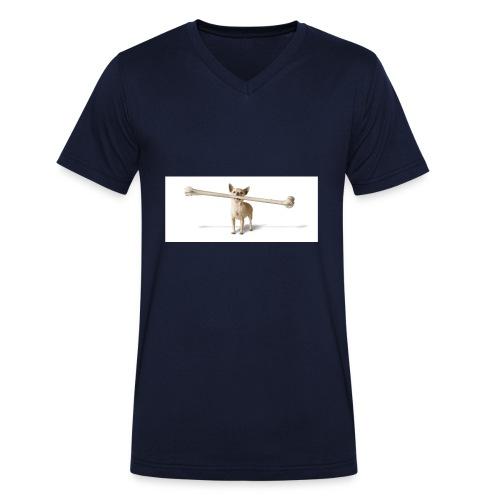 Tough Guy - Mannen bio T-shirt met V-hals van Stanley & Stella