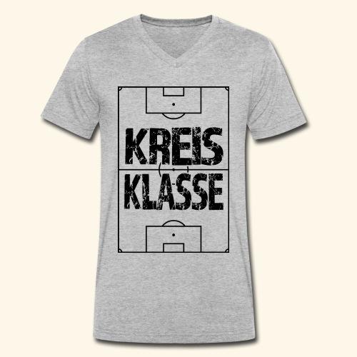 KREISKLASSE im Fußballfeld - Männer Bio-T-Shirt mit V-Ausschnitt von Stanley & Stella