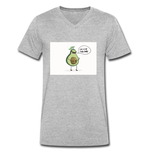 Mrs. Avocadina - T-shirt ecologica da uomo con scollo a V di Stanley & Stella