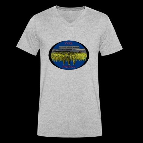 Vox Populi - T-shirt ecologica da uomo con scollo a V di Stanley & Stella