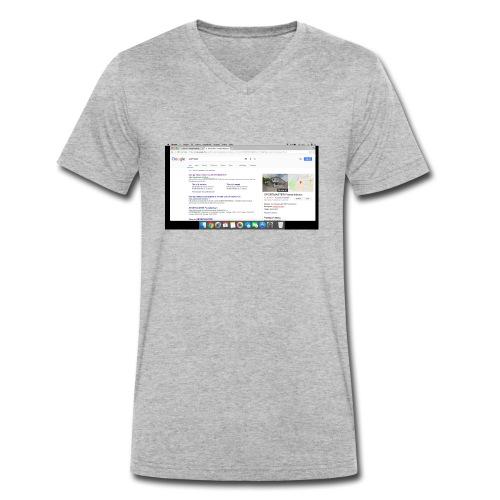 Sk rmbillede 2017 11 03 kl 19 37 54 - Økologisk Stanley & Stella T-shirt med V-udskæring til herrer