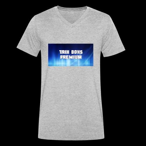 Screenshot 20180816 004331 - Männer Bio-T-Shirt mit V-Ausschnitt von Stanley & Stella