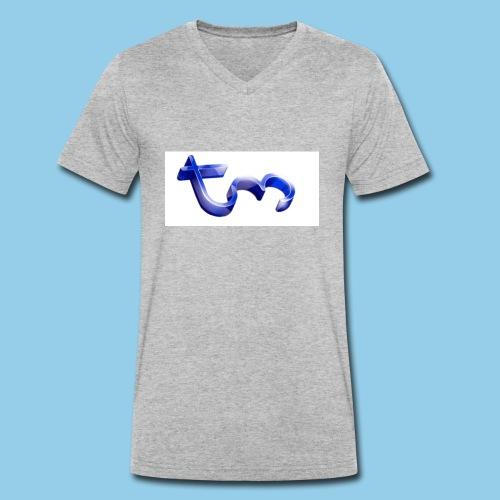 tm - Men's Organic V-Neck T-Shirt by Stanley & Stella