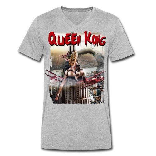 queen kong voor shirt gif - Mannen bio T-shirt met V-hals van Stanley & Stella