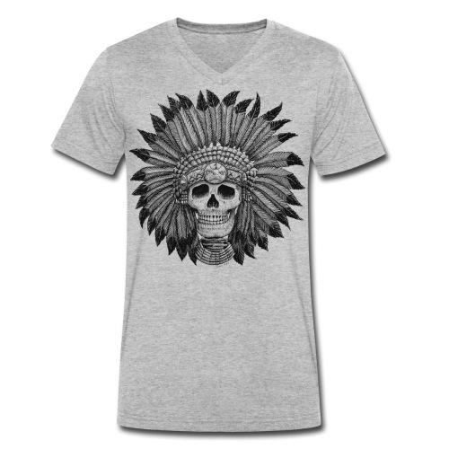 indianbasehigh png - Männer Bio-T-Shirt mit V-Ausschnitt von Stanley & Stella