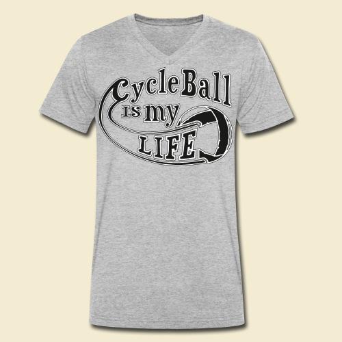 Radball   Cycle Ball is my Life - Männer Bio-T-Shirt mit V-Ausschnitt von Stanley & Stella