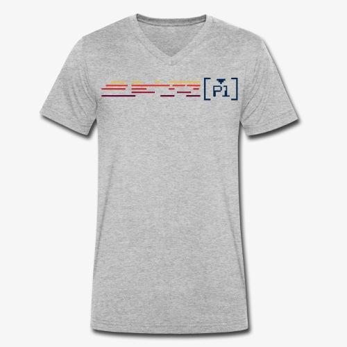 Player 1 - Camiseta ecológica hombre con cuello de pico de Stanley & Stella