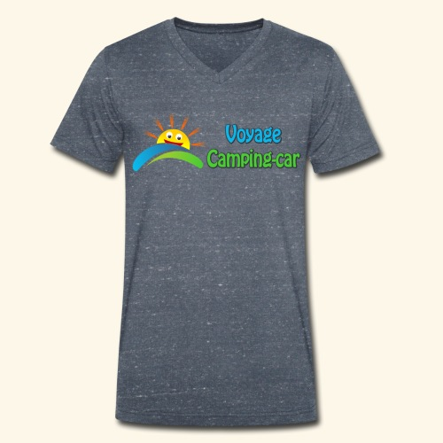 Voyage Camping-Car - T-shirt bio col V Stanley & Stella Homme