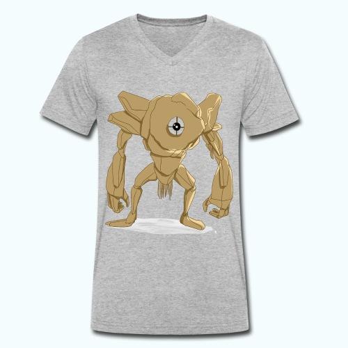 Cyclops - Men's Organic V-Neck T-Shirt by Stanley & Stella