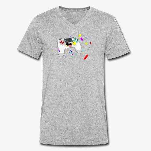 Neues Design - Männer Bio-T-Shirt mit V-Ausschnitt von Stanley & Stella