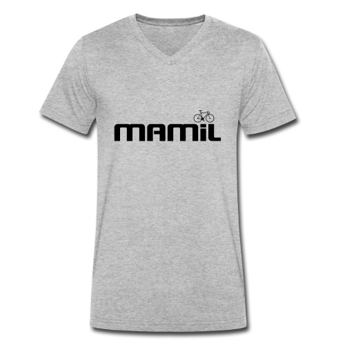 mamil1 - Men's Organic V-Neck T-Shirt by Stanley & Stella