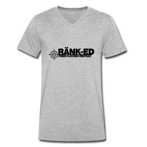 Ränk-ed - Men's Organic V-Neck T-Shirt by Stanley & Stella