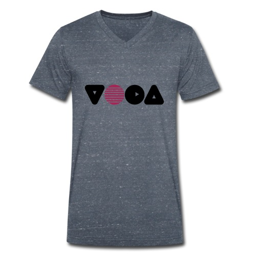 Yoga Design Ball - Männer Bio-T-Shirt mit V-Ausschnitt von Stanley & Stella
