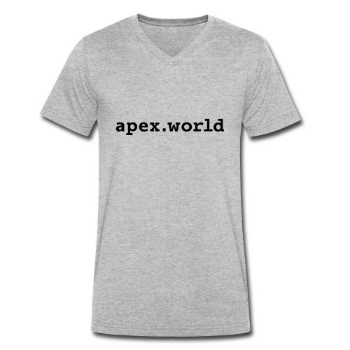 apex-world - Männer Bio-T-Shirt mit V-Ausschnitt von Stanley & Stella