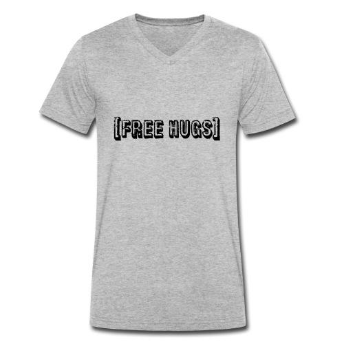 Free Hugs! - Männer Bio-T-Shirt mit V-Ausschnitt von Stanley & Stella