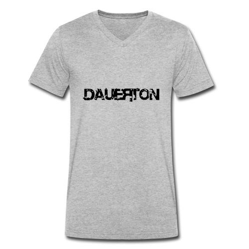 (dtbk) dauerton - Männer Bio-T-Shirt mit V-Ausschnitt von Stanley & Stella