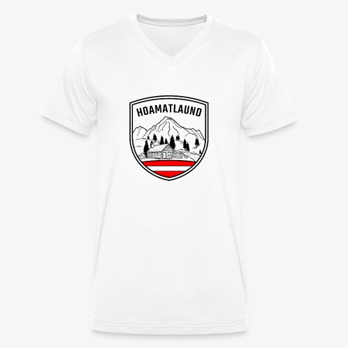 hoamatlaund österreich - Männer Bio-T-Shirt mit V-Ausschnitt von Stanley & Stella