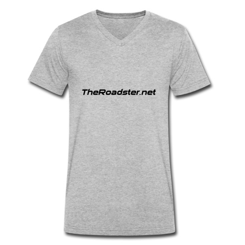 TheRoadster net Logo Text Only All Cols - Men's Organic V-Neck T-Shirt by Stanley & Stella