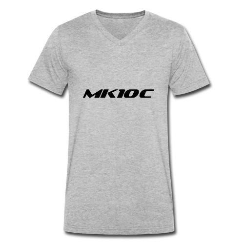 mk1oc logo - Men's Organic V-Neck T-Shirt by Stanley & Stella