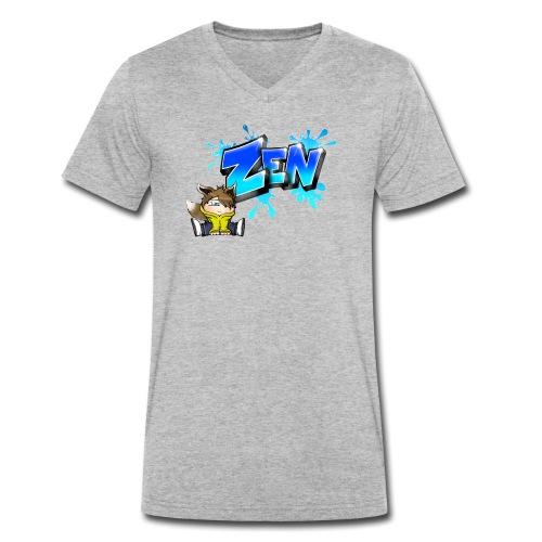 Graffiti Zen printable - T-shirt bio col V Stanley & Stella Homme
