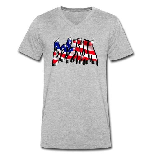 GRAFFITI JOSHUA USA STYLE PRINTABLE ON EVERYTHING - T-shirt bio col V Stanley & Stella Homme