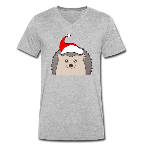 Weihnachts Hed - Männer Bio-T-Shirt mit V-Ausschnitt von Stanley & Stella