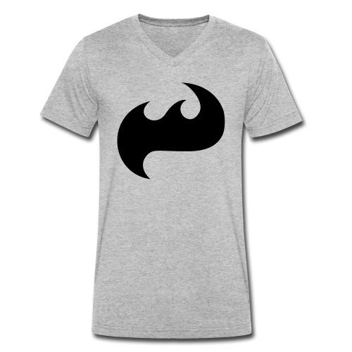 Highfish Logo - Männer Bio-T-Shirt mit V-Ausschnitt von Stanley & Stella