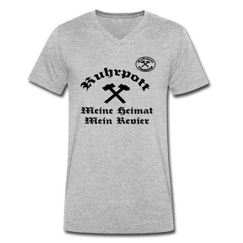 Ruhrpott Meine Heimat Mein Revier rpc - Männer Bio-T-Shirt mit V-Ausschnitt von Stanley & Stella