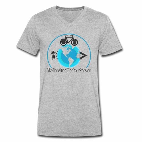 Find your Passion - Männer Bio-T-Shirt mit V-Ausschnitt von Stanley & Stella