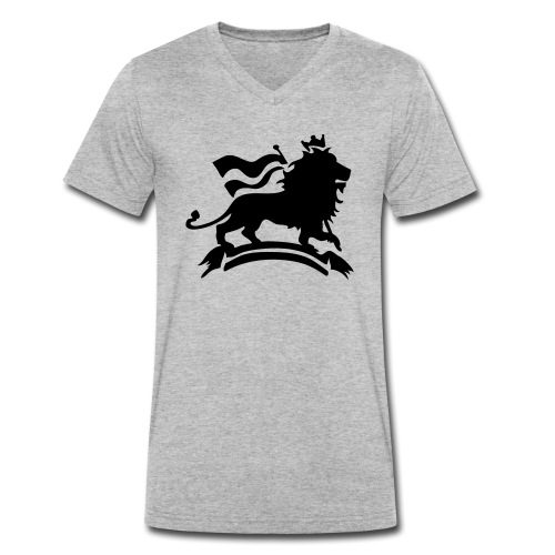 Lion of Judah - Männer Bio-T-Shirt mit V-Ausschnitt von Stanley & Stella