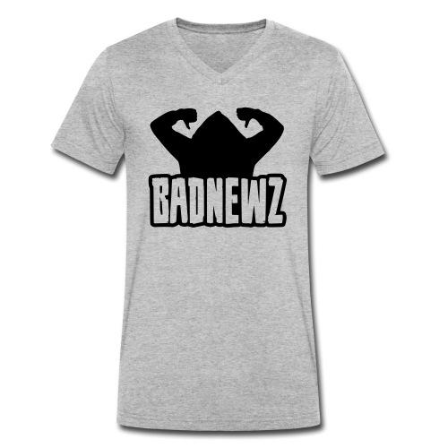 Bad Newz Thumbs Down - Männer Bio-T-Shirt mit V-Ausschnitt von Stanley & Stella