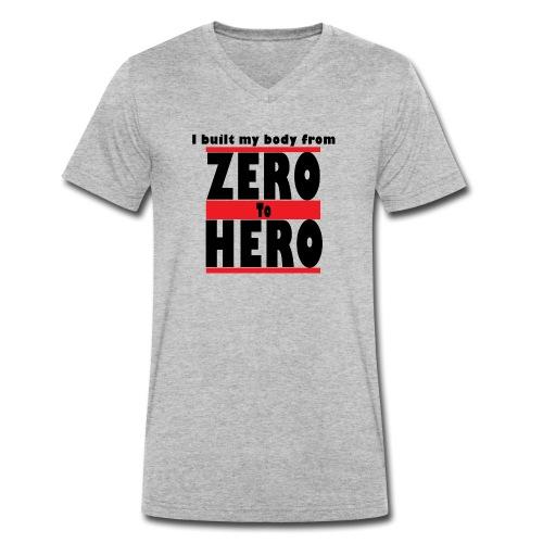 Zero To Hero - Stanley & Stellan miesten luomupikeepaita