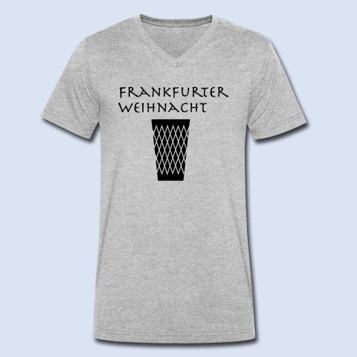 Frankfurter Weihnacht - Männer Bio-T-Shirt mit V-Ausschnitt von Stanley & Stella