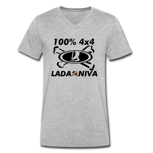 100 pro 4x4 - Männer Bio-T-Shirt mit V-Ausschnitt von Stanley & Stella