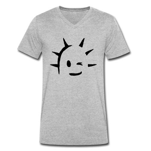 Kaktus Kopf - Männer Bio-T-Shirt mit V-Ausschnitt von Stanley & Stella