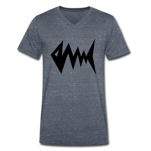 Blitzfisch - Männer Bio-T-Shirt mit V-Ausschnitt von Stanley & Stella