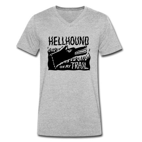 Hellhound on my trail - Men's Organic V-Neck T-Shirt by Stanley & Stella