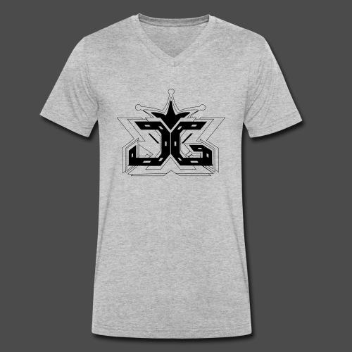 LOGO OUTLINE SMALL - Men's Organic V-Neck T-Shirt by Stanley & Stella