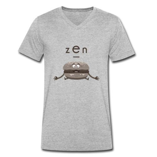 zen burger - T-shirt bio col V Stanley & Stella Homme