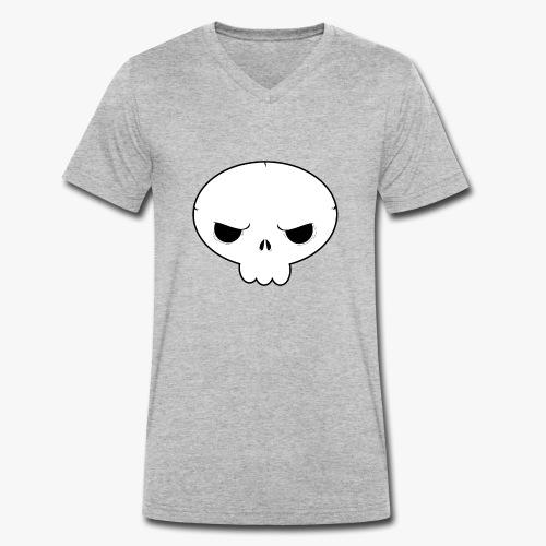 Skullie - Økologisk Stanley & Stella T-shirt med V-udskæring til herrer