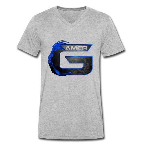 Spreadgaming - Männer Bio-T-Shirt mit V-Ausschnitt von Stanley & Stella