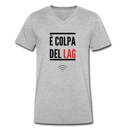 Lag - T-shirt ecologica da uomo con scollo a V di Stanley & Stella
