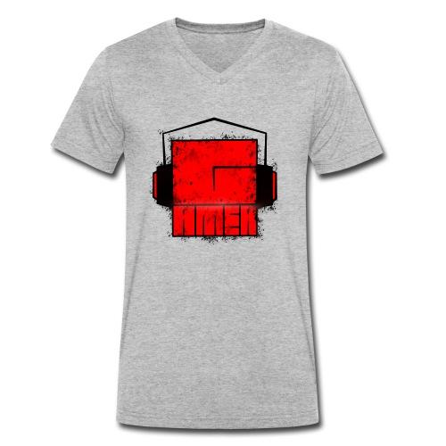 G_amer - Männer Bio-T-Shirt mit V-Ausschnitt von Stanley & Stella