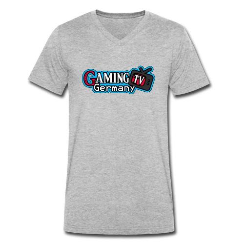 GamingTV - Männer Bio-T-Shirt mit V-Ausschnitt von Stanley & Stella
