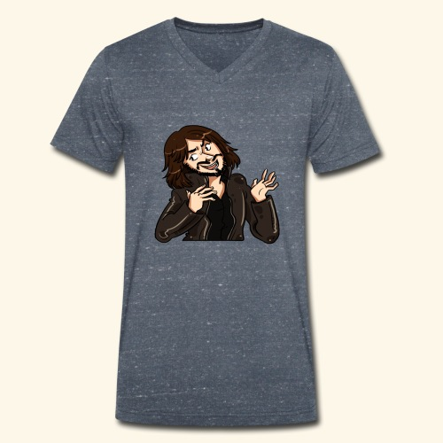 LEATHERJACKETGUY - Men's Organic V-Neck T-Shirt by Stanley & Stella