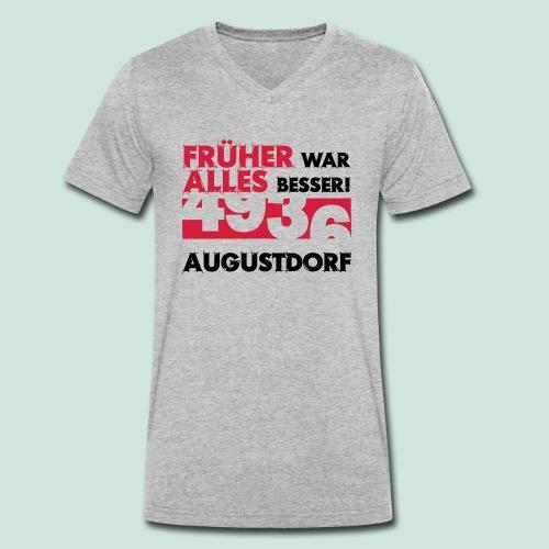 Früher 4936 Augustdorf - Männer Bio-T-Shirt mit V-Ausschnitt von Stanley & Stella