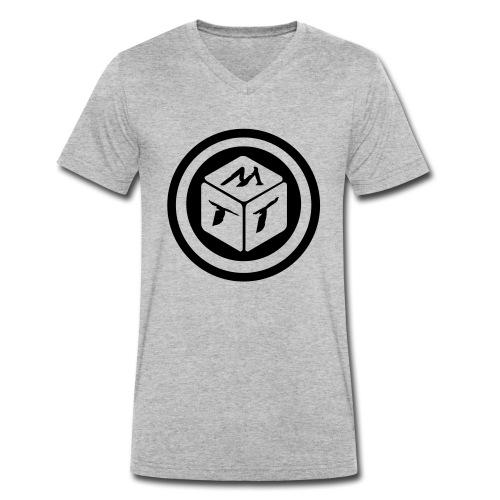 mb logo klein - Männer Bio-T-Shirt mit V-Ausschnitt von Stanley & Stella